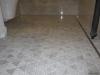 Curbless Carrara shower with linear drain in Seattle Washington