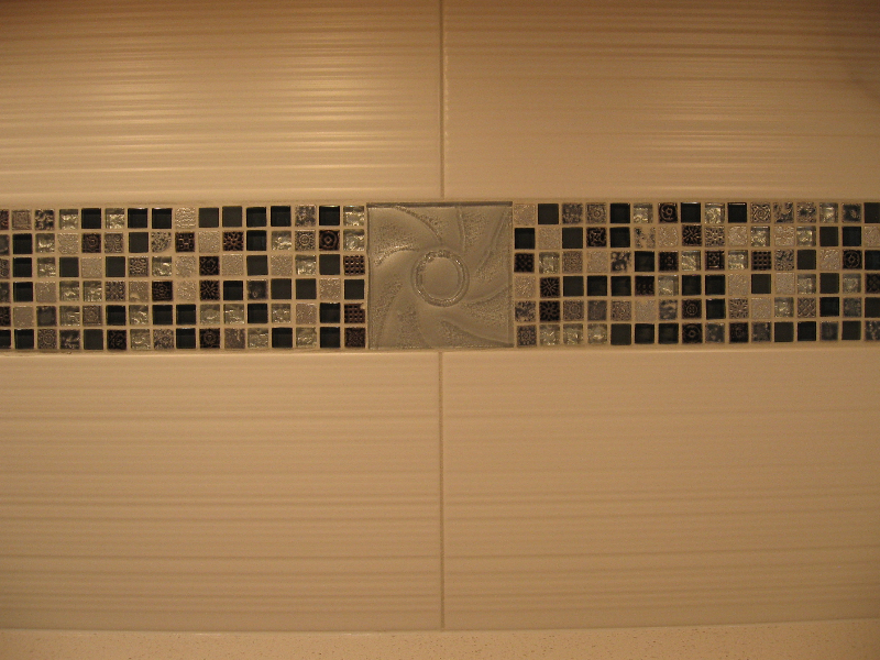 Ultraglas Elsol Platinum 4x4 decorative glass tile