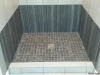 MI shower pan finished