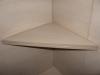 tile corner shelf close-up