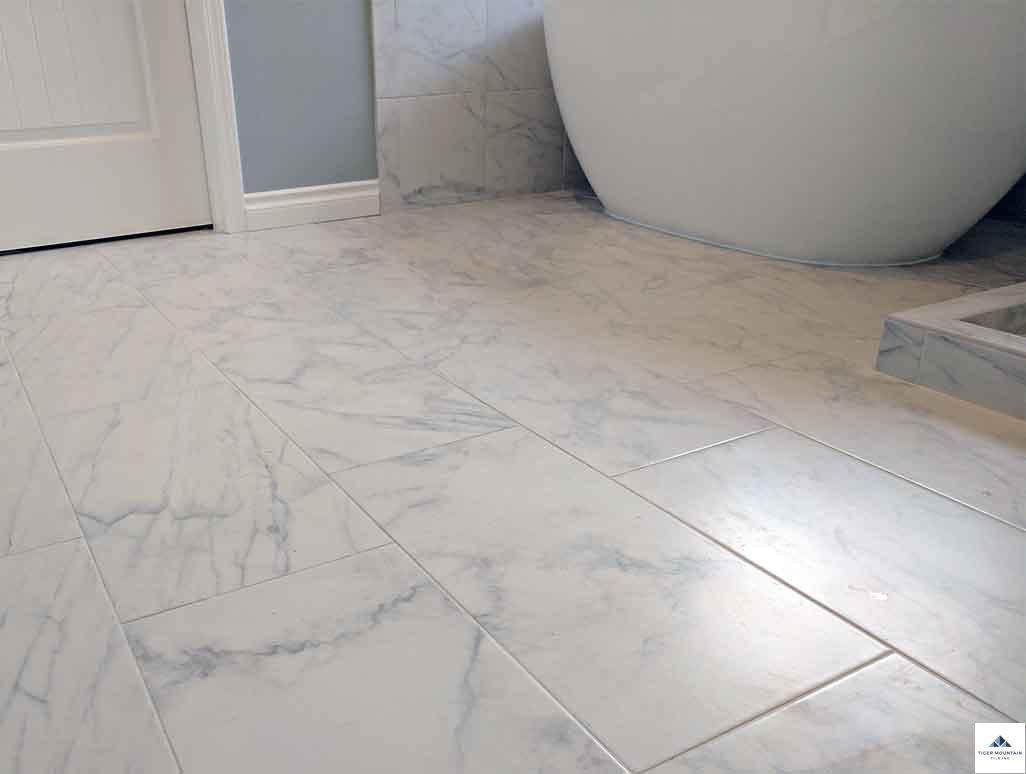 Snoqualmie Ridge porcelain tile floor