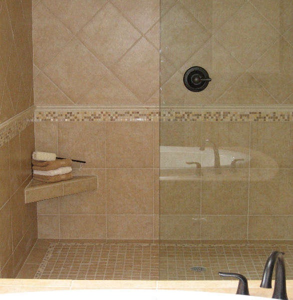 Issaquah Highland\'s Harrison Street Master Bath shower