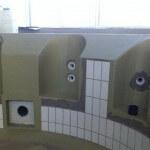 Hydro Ban tile swimming pool construction