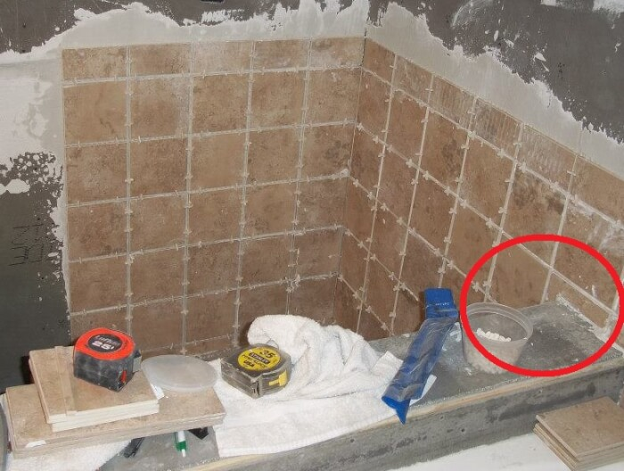 The Wrong Way To Tile A Shower