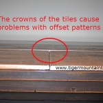offset wood grain tile Bellevue Washington problems