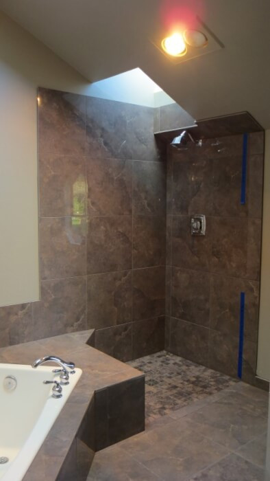 Klahanie master bathroom remodel  in Issaquah washington