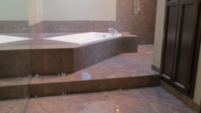 bathroom tile remodel Issaquah