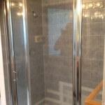 Sammamish water damage leaking tile shower before