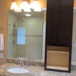 sammamish tile shower customized to customer needs