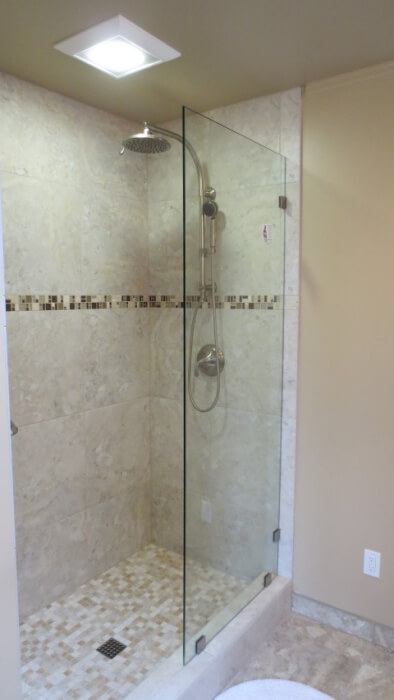 tile shower sammamish washington remodel