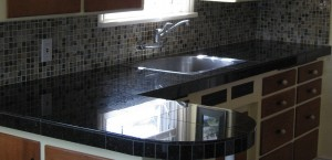 black granite kitchen radius