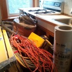 hire acontractor messy remodel