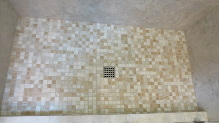 Brushed Nickel Ebbe Shower Drain