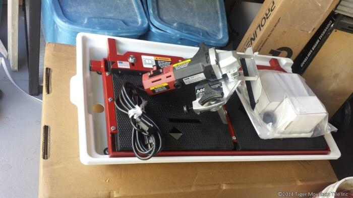MK-EZ Profile machine out of the box