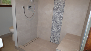 tile tub to shower conversion in Maple Valley Washington