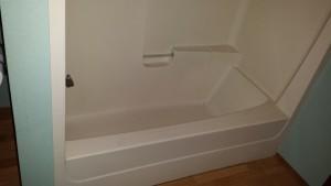 fiberglass tub unit